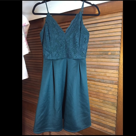 Charlotte Russe Dresses & Skirts - Forest green homecoming dress